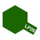 Tamiya LP-26 Dark green (JGSDF) Lacquer Paint Bottle (10ml) - 82126