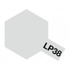 Tamiya LP-38 Flat Aluminium Lacquer Paint Bottle (10ml) - 82138
