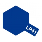 Tamiya LP-41 Metallic Mica Blue Lacquer Paint Bottle (10ml) - 82141
