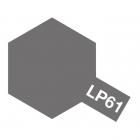 Tamiya LP-61 Metallic Grey Lacquer Paint Bottle (10ml) - 82161