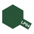 Tamiya LP-64 Olive Drab (JGSDF) Lacquer Paint Bottle (10ml) - 82164