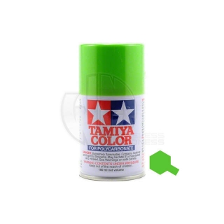 Tamiya PS-8 Light Green 100ml Polycarbonate Spray Paint - 86008