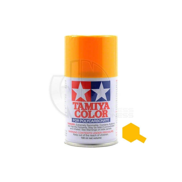 Tamiya Ps 19 Camel Yellow 100ml Polycarbonate Spray Paint 86019