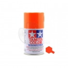 Tamiya PS-24 Fluorescent Orange 100ml Polycarbonate Spray Paint - 86024
