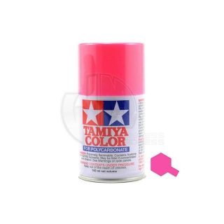 Tamiya PS-29 Fluorescent Pink 100ml Polycarbonate Spray Paint - 86029