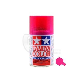 Tamiya PS-40 Translucent Pink 100ml Polycarbonate Spray Paint - 86040