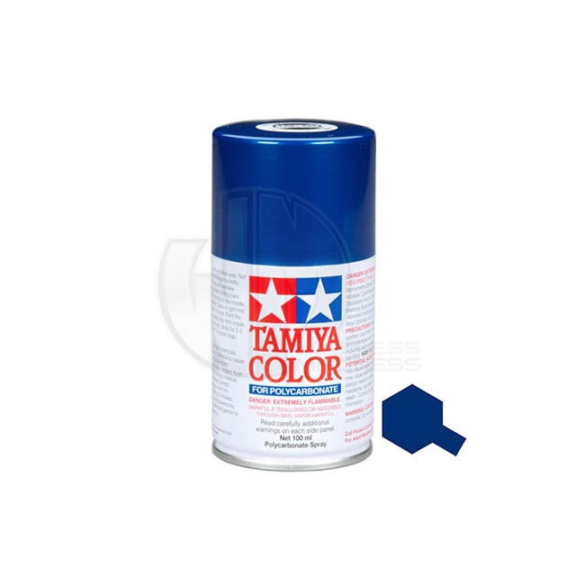 Tamiya Ps 59 Dark Metallic Blue 100ml Polycarbonate Spray