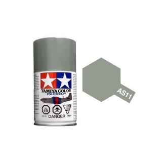 Tamiya AS-11 Medium Sea Grey (RAF) 100ml Spray Paint for Scale Models - AS86511