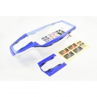 FTX Outlaw Brushless Pre-Painted Body Shell with Decals (Blue) - FTX8350B