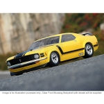 HPI 1970 Ford Mustang Boss 302 1/10 Clear Body Shell (200mm) - HPI-17546