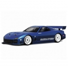 HPI Mazda RX-7 FD3S 1/10 Scale Clear Body Shell with Decals (190mm/WB255mm) - HPI-7382