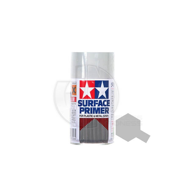 tamiya acrylic surface primer spray paint for plastic and. Black Bedroom Furniture Sets. Home Design Ideas