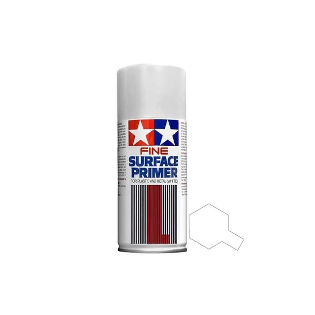 Tamiya Acrylic Surface Primer Spray Paint For Plastic And Metal 3 Colours Ebay
