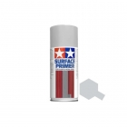 Tamiya 180ml Fine Surface Primer Spray for Plastic and Metal (Light Grey) - TAM-87064
