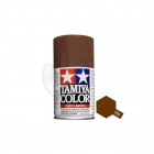 Tamiya TS-1 Red Brown 100ml Acrylic Spray Paint - TS-85001