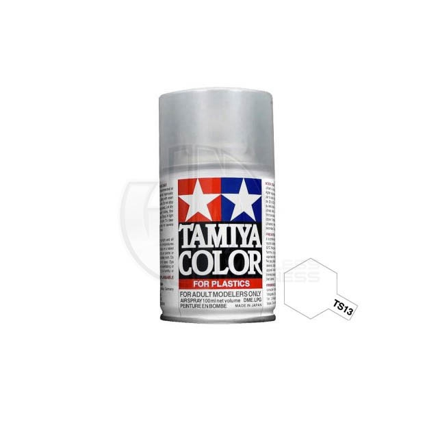 Tamiya Ts 13 Clear 100ml Acrylic Spray Paint Ts 85013