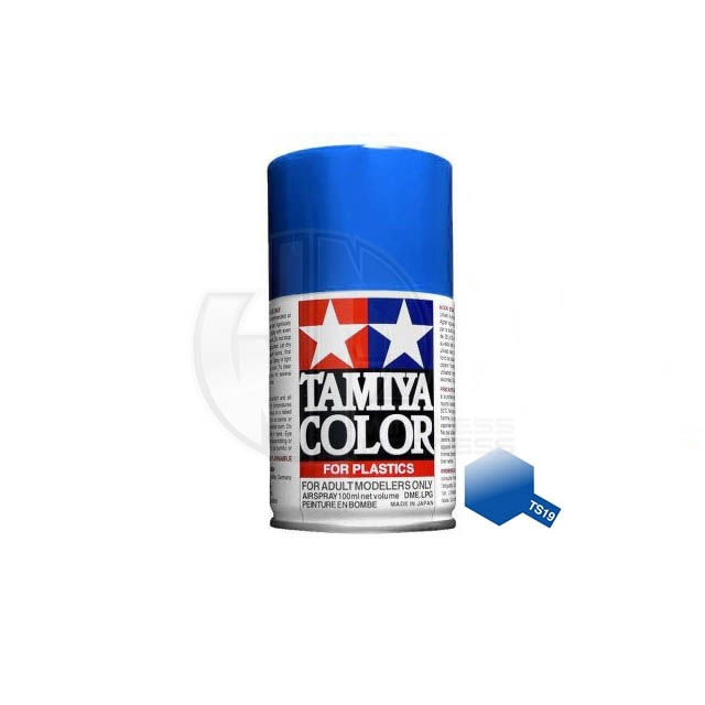 Tamiya Ts 19 Metallic Blue 100ml Acrylic Spray Paint Ts