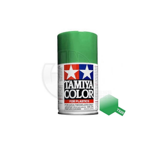 Tamiya Ts 20 Metallic Green 100ml Acrylic Spray Paint Ts 85020