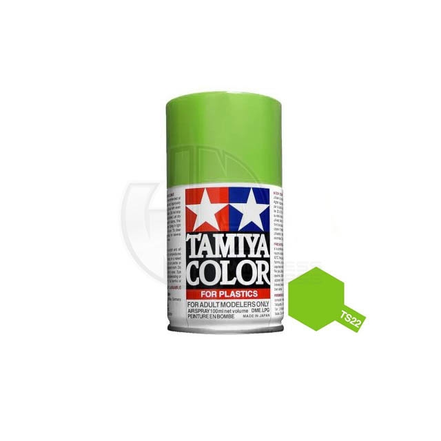 Tamiya Ts 22 Light Green 100ml Acrylic Spray Paint Ts 85022
