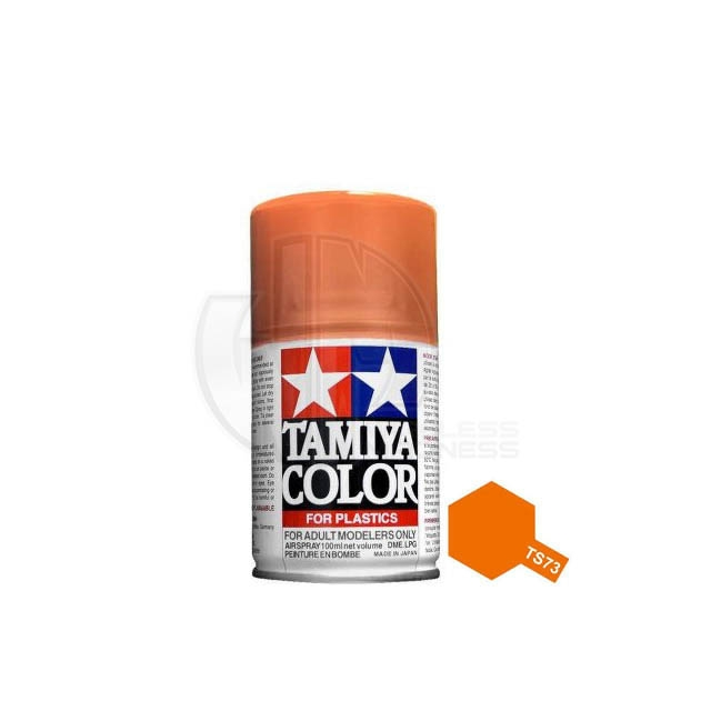 Tamiya Ts  Clear Orange Acrylic Spray Paint