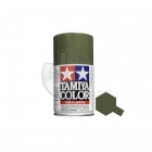 Tamiya TS-91 Dark Green JGSDF 100ml Acrylic Spray Paint - TS-85091