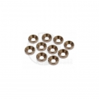 Edit RC M3 Countersunk Anodised Smoke Washer (10 Washers) - ED060011