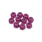 Edit M2 Purple Locking Nut (10 Nuts) - ED130013