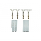 Etronix Tamiya Male/Female Connector Set With Crimps - ET0795