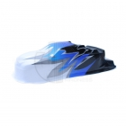 FTX Carnage Brushed Standard Printed Body Shell (Blue) - FTX6341