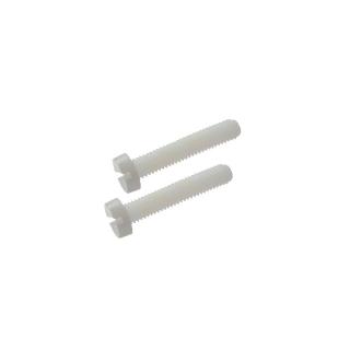 FlightLine 2BAx47mm White Nylon Wingfix Bolts (Pack of 2) - HFL5501