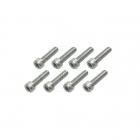 Flight Line M5 x 25mm Socket Head Bolt (Pack of 8 Bolts) - HFL9725