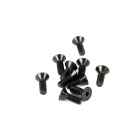 "Losi 8-32x1/2"" Flat Head Screw (Pack of 10 Screws) - LOSA6262"