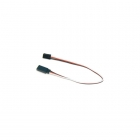 Cirrus Heavy Duty Servo Extension Lead with Futaba Connector (200mm) - CF0200HD