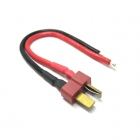 Etronix Male Deans Connector with 10cm 14AWG Silicone Wire - ET0620