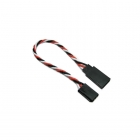 Etronix 22AWG Futaba 10cm Twisted Extension Wire - ET0731