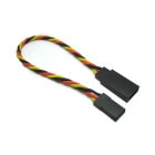 Etronix 22AWG JR 10cm Twisted Extension Wire - ET0732