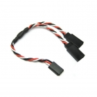 Etronix 22AWG 30cm Futaba Twisted Y Extension Wire - ET0753