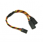 Etronix 22AWG 30cm JR Twisted Y Extension Wire - ET0754