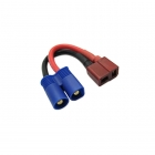 Etronix Female Deans to Male EC3 Battery Adaptor Lead - ET0830