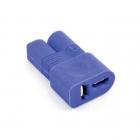 Etronix Male EC3 to Female Deans One-Piece Adaptor Plug - ET0850ED