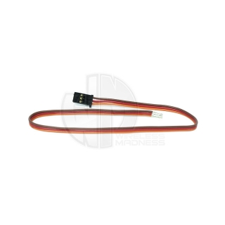 Logic RC JR/Spektrum Type Heavy Duty Servo Lead with Gold Plated Connectors (300mm) - JRSL0300