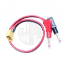 Logic RC Charger Lead 4mm Gold Banana Connectors to XT60 Connector - LGL-CLXT60