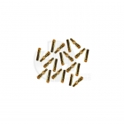 Overlander 4mm Gold Stub Bullet Connectors (10 Pairs) - OL-2142