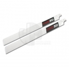 Pro 3D 550mm Carbon Fibre Main Rotor Blade for 30 Class Heli (2 Blades) - PRO5501