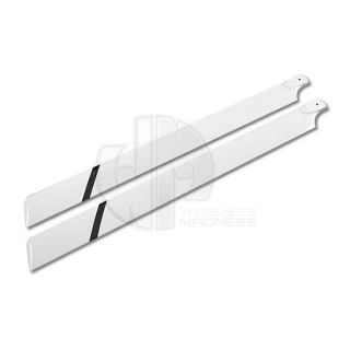 Pro 3D 700mm Fibre Glass Main Rotor Blade for 90 Class Heli (2 Blades) - PRO7002