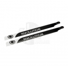 Revolution 430mm Flybarless 3D Carbon Fibre Main Rotor Blades - RVOB043050