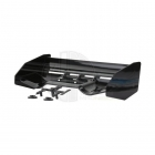 S-Workz 1/8 High Down Force Wing Spoiler Set with Pre-Drilled Holes (Black) - SW-2501116