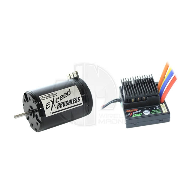Fusion Exceed Sport 40a Brushless Speed Controller With 13
