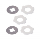 Losi LST/LST2/Aftershock Slipper Pads and Plates - LOSB3451