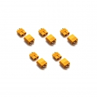 Overlander XT60 Male and Female Precision Profile Connector 60A-80A (Pack of 5 Pairs) - OL-1836